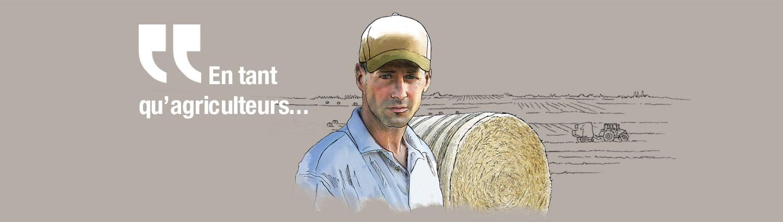 En tant qu'agriculteurs