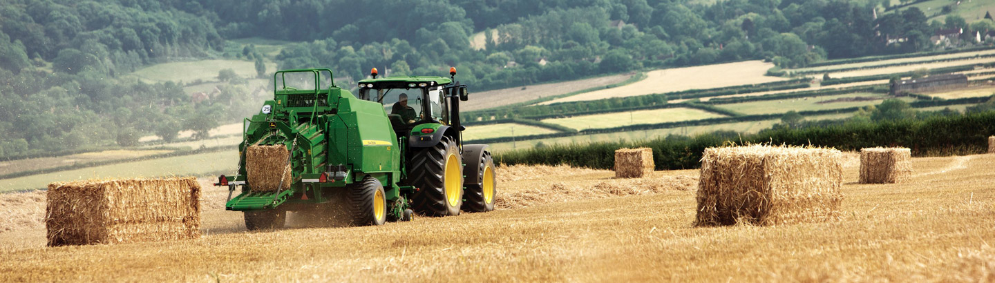 John Deere for Small Square and Round Bales