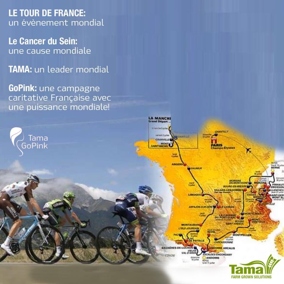 LE TOUR DE FRANCE GoPink