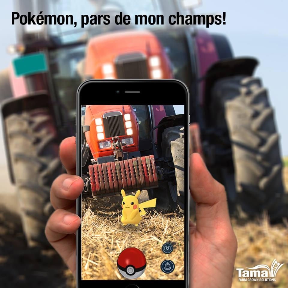 Pokémon, pars de mon champs