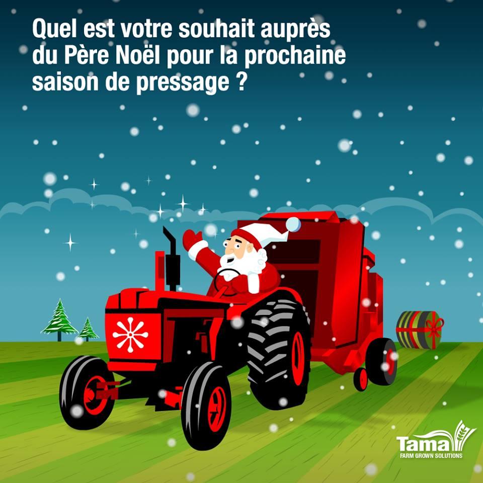 Quel est votre souhait auprès du Père Noël pour la prochaine saison de pressage?