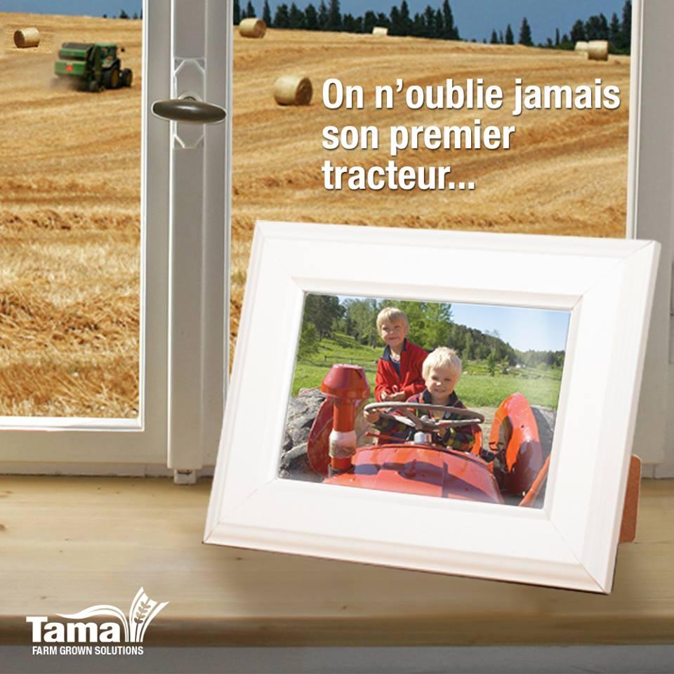 On n'oublie jamais son premier tracteur