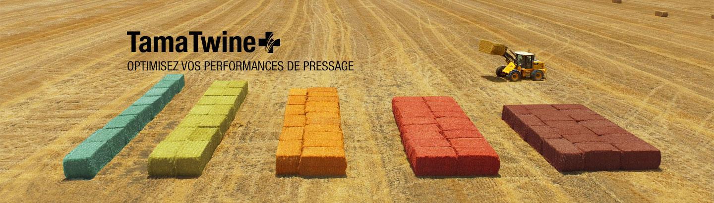 TamaTwine<span class='plus bs'></span> pour presses Haute Densité