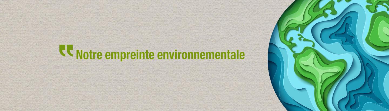 empreinte environnementale